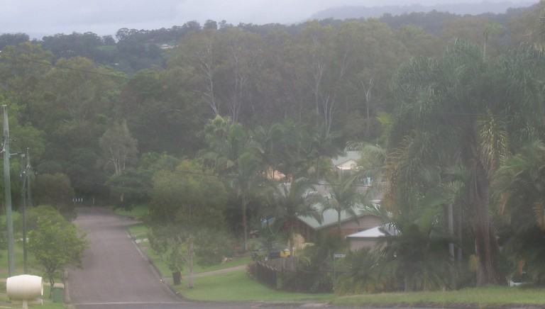 Overview from the rear, along Swallow Street, of the           approximate five acre Hugh McVean jungle/rainforest at 225           Windsor Road, Nambour QLD 4560.