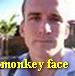 monkey face pig